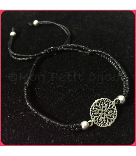 Pulsera Mandala plata de ley