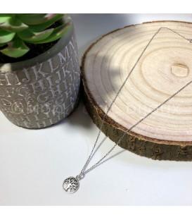 Collar Arbol de la Vida plata