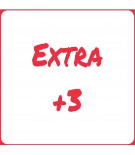 Extra +3