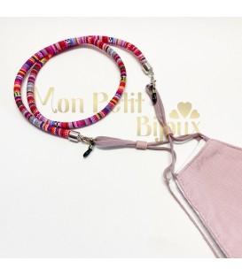 Collar porta Mascarilla / gafas Étnico