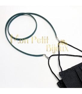 Cuelga mascarillas / gafas vaquero plano