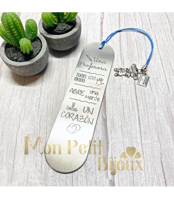 Margapáginas largo aluminio