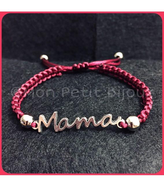 Pulsera Mama macramé
