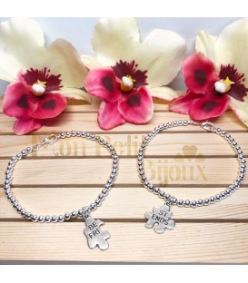 "Conjunto pulseras ""Best Friends"""